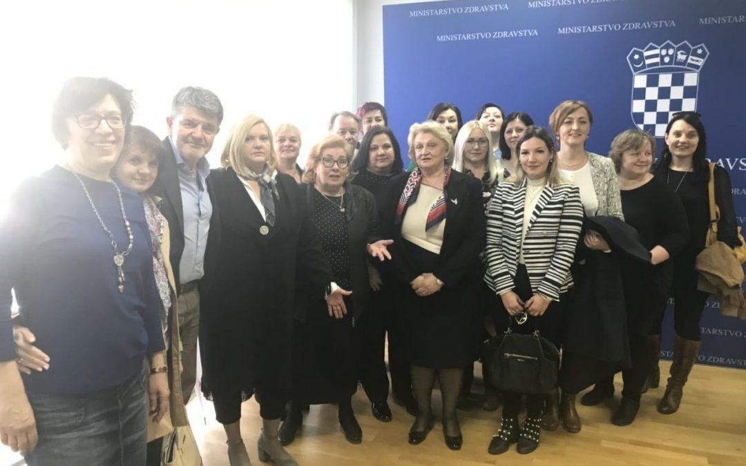 U Ministarstvu zdravstva održan sastanak s domovima zdravlja