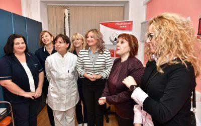 Posjet zamjenice župana mobilnom palijativnom timu pri Domu zdravlja Karlovac